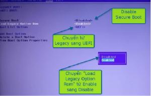 Chuyển từLegacy sang UEFI
