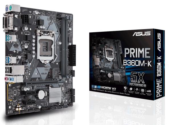 Mainboard Asus Prime B360M-K