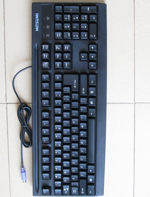 Keyboard Mitsumi PS2