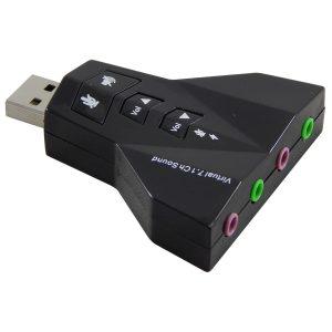 USB Sound 7.1 máy bay